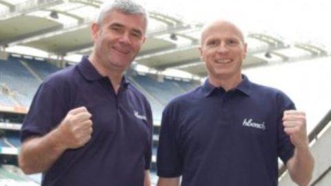 Fergal McCarthy (1998) and Luke Bourke (1998) launch hbench.com