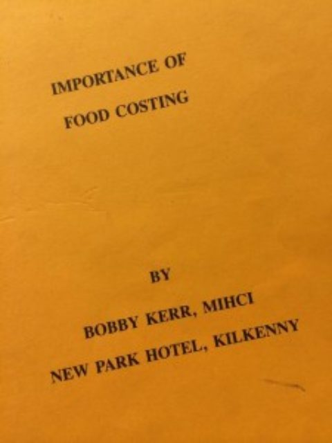Importance of Food Costing – Bobby Kerr