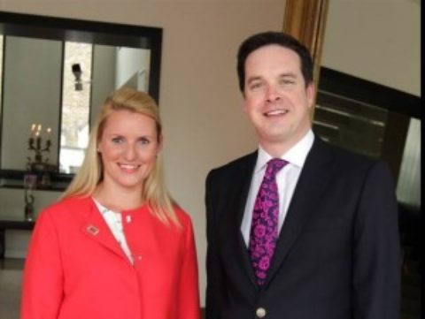 Fiona Burns (2000) is Hilton's best performing Director of Sales for DoubleTree in 2015