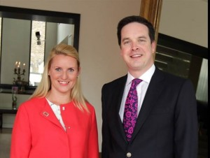 Fiona Burns Director of Sales and Marketing at the Morrison and Patrick Joyce General Manager at the Morrison