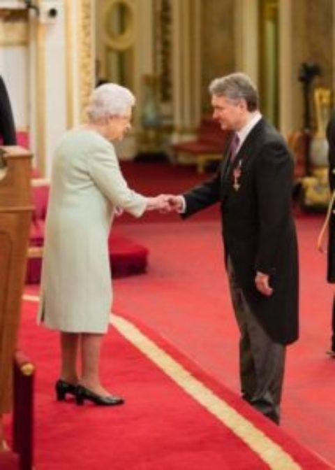 Grant Hearn (1981) awarded OBE
