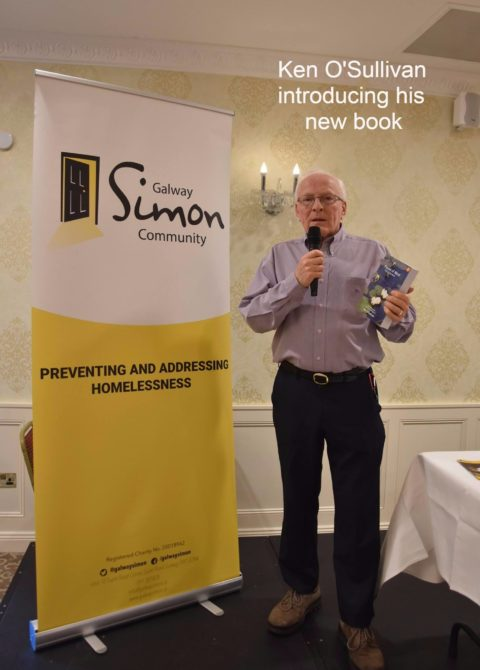 Ken O'Sullivan (1964), launches his book, 'Pieces of Mind: The Collection'