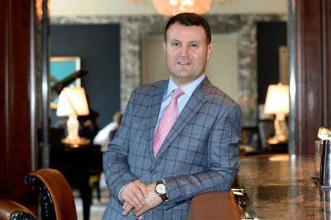 Nicky Logue (1995) – GM of InterContinental Dublin