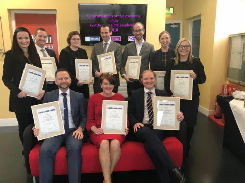Certificate in Hotel Leadership 2018
