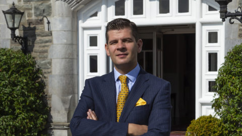 Donald Morrissy (2002) – appointed new GM of Parknasilla Resport & Spa