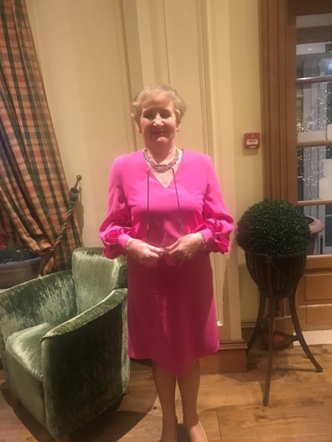 Rose O'Loughlin (1965) honoured by County Kildare Chamber