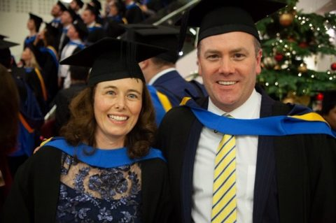 Congratulations Ian Rafferty and Emma McHenry – Class of 2000