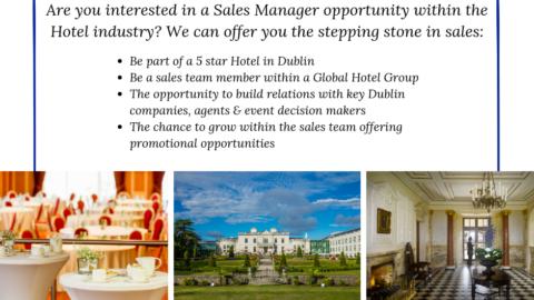 Sales Manager – Radisson Blu St. Helen's Hotel, Dublin
