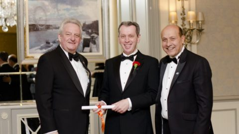 Peter Stack (1995), Amaris Hospitality CEO is awarded Institute of Hospitality Fellowship