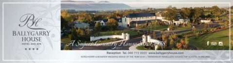 Accommodation Manager – Ballygarry House Hotel & Spa, Tralee, Co. Kerry