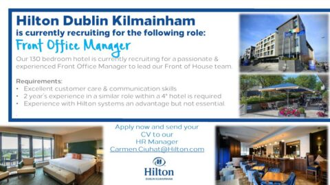 Front Office Manager – Hilton Dublin Kilmainham
